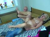 Old mature lesbian strapon and granny blowjob compilation