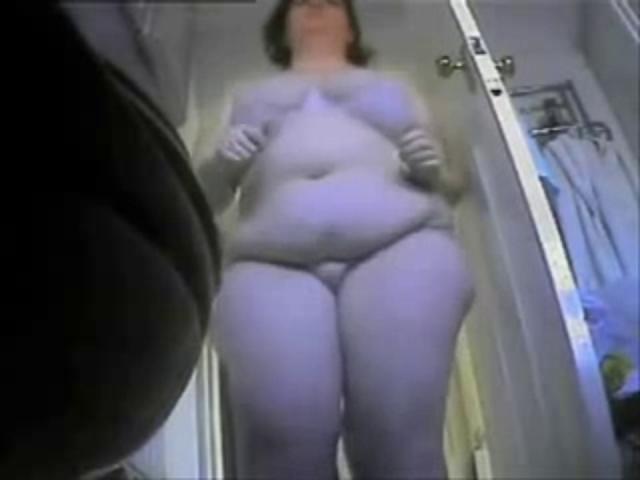 фото скрытой камеры за жирной толстой - 5