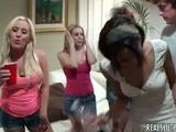 Plenty of horny sorority girls enjoy being banged in plenty of combinations during one hot party!