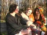 A trio of all-natural lesbians love each other's big-bushed slits!